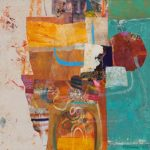 Patricia Kilburg, Acryylic/Mixed Media, Ocean Blue